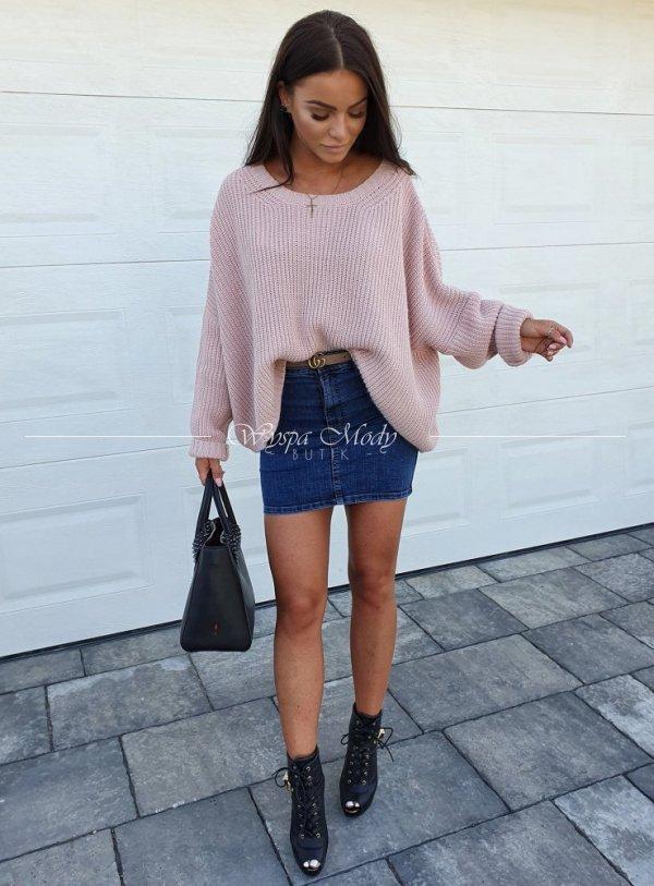 Sweterek zara pink