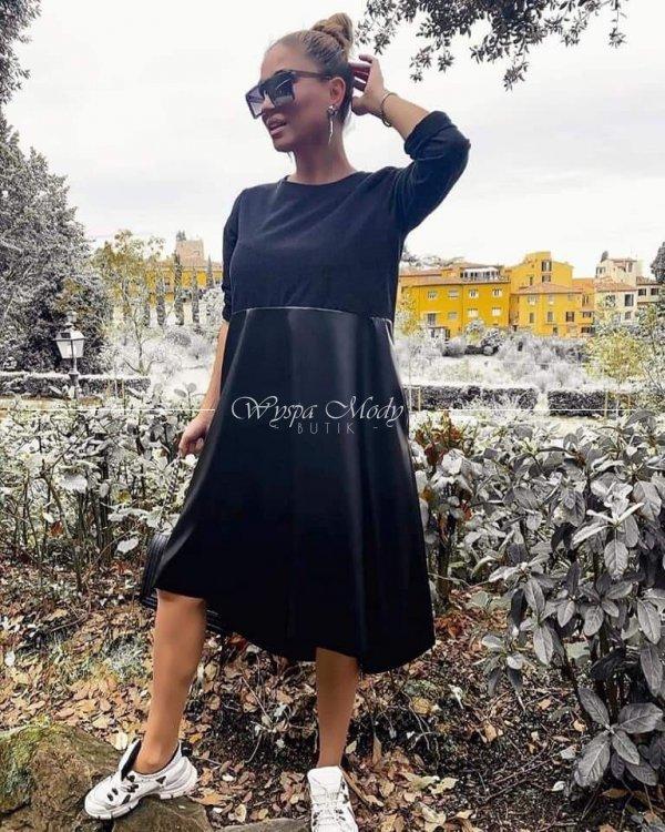 Sukienka GOLDEN black