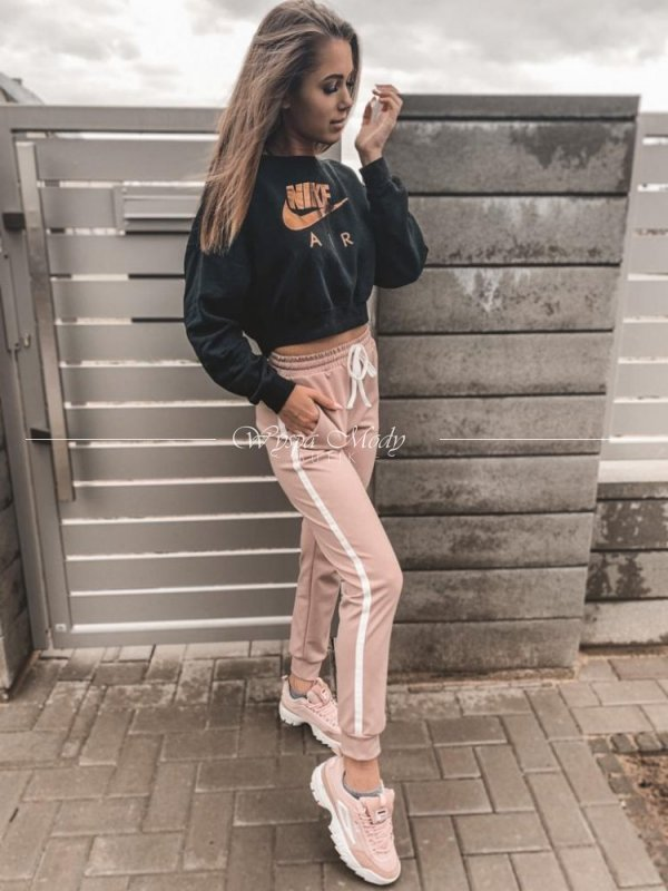 Spodnie Lampas Dirty pink