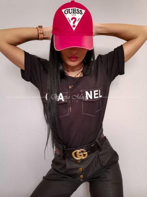 Bluzka Exclusive Chanel Black