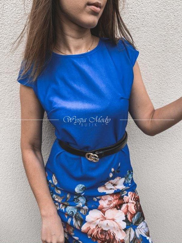 Sukienka flower blue