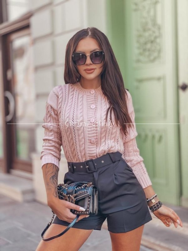 sweter migalo dirty pink
