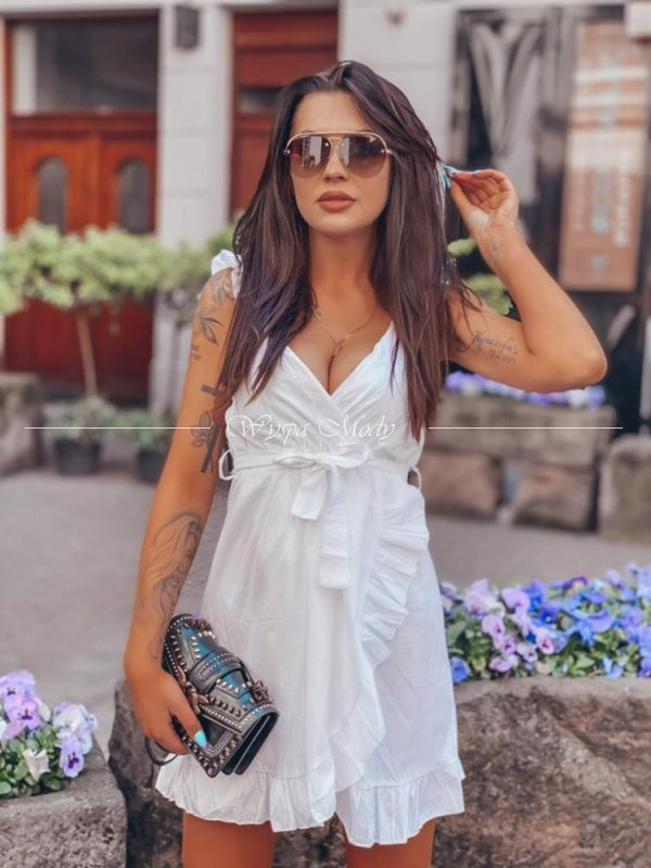 sukienka mona white