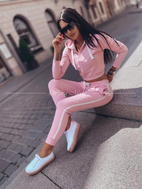 Komplet dresowy Pink Lampas