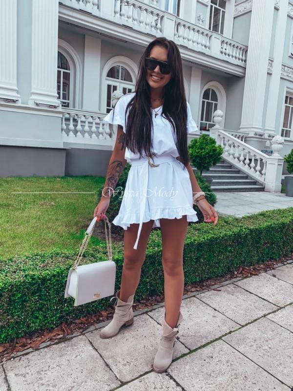Sukienka balanciaga white