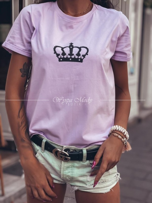 Tshirt korona purple