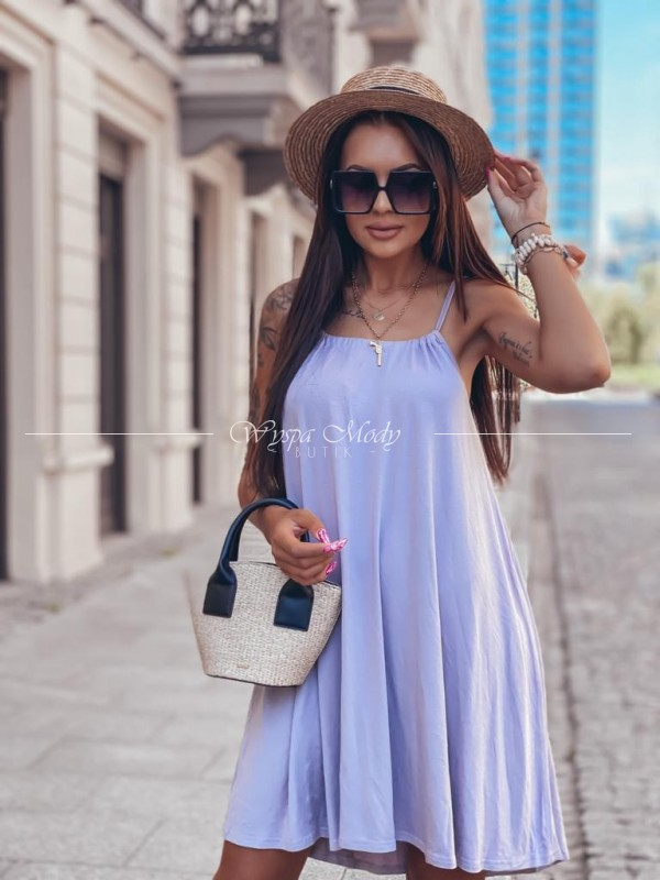 Sukienka Maroko violet