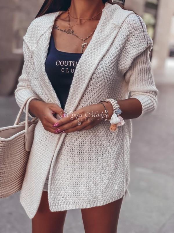 sweterek madera ecru