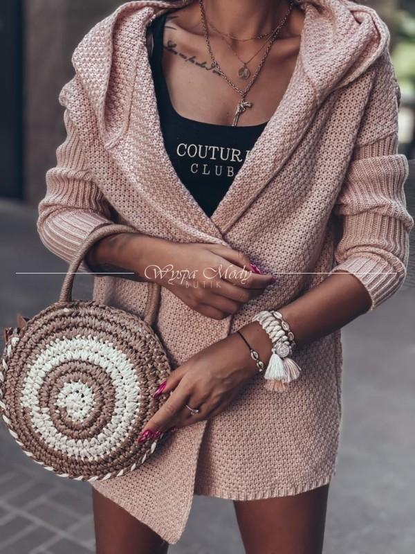sweterek madera pink
