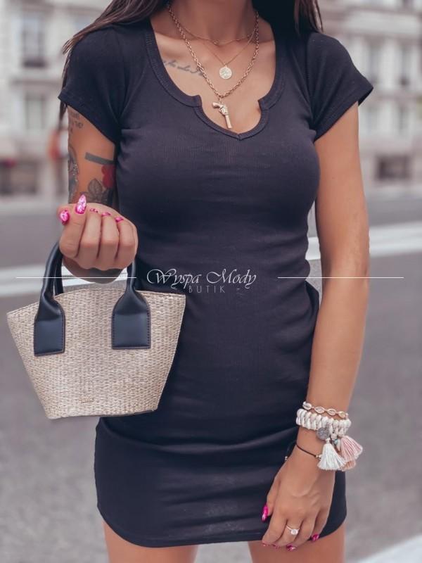 Sukienka Elena prążek black