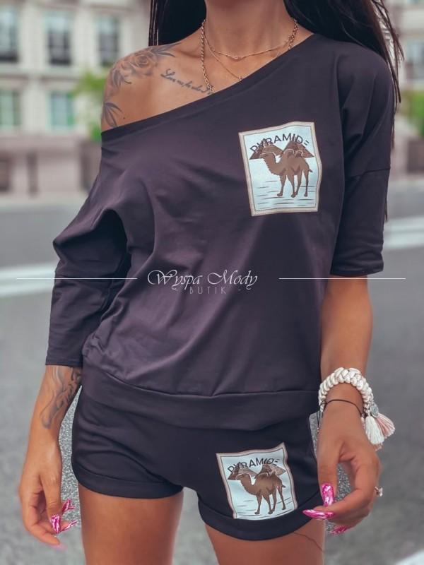 komplet Camel black