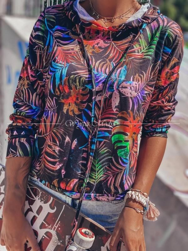 Bluza tropical black