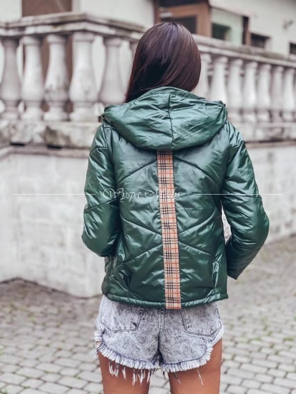 kurtka pikowana green