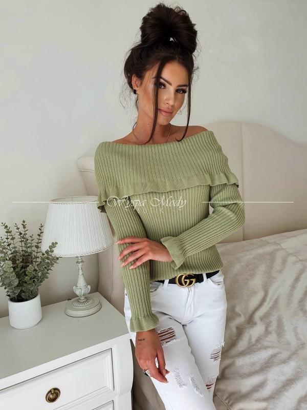 Sweterek Megan khaki