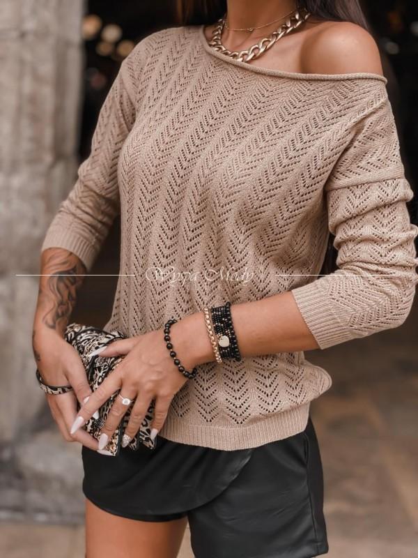 Sweterek azurkowy Beige