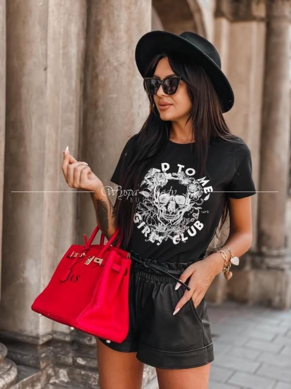 Tshirt girls club black