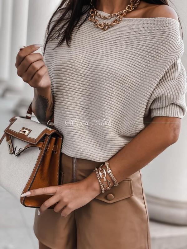 Sweterek kiki beige