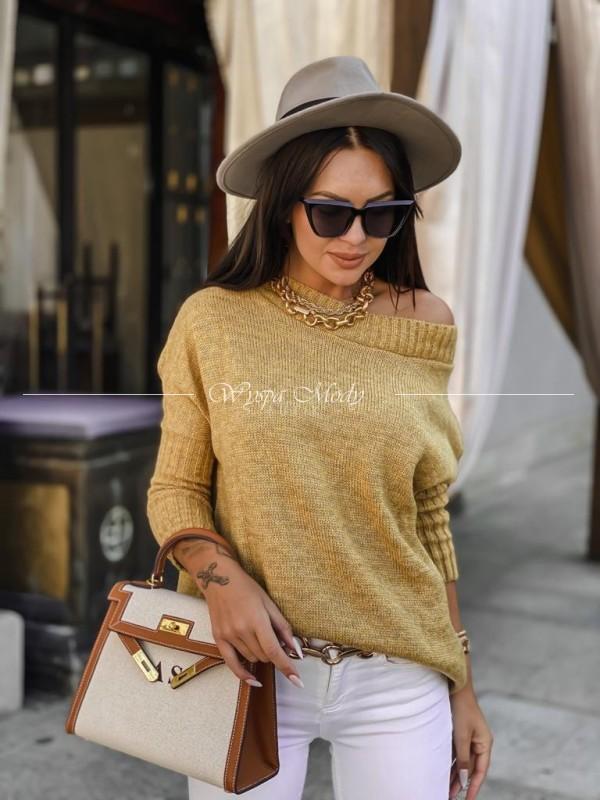Sweter włoska przędza Amelia