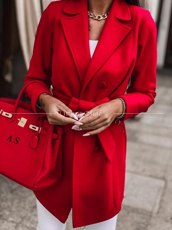 Płaszcz LUXURY RED