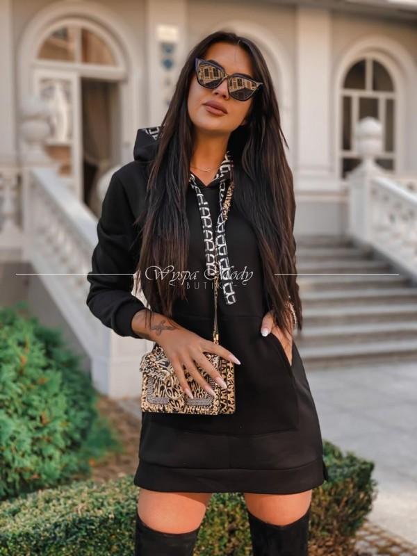 Sukienka dresowa Milano black
