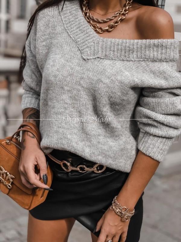 Sweterek Dalia grey
