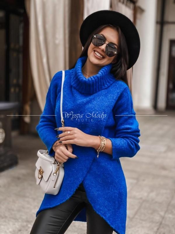 sweterek caterina blue ( Czas realizacji do 10 dni roboczych ! )
