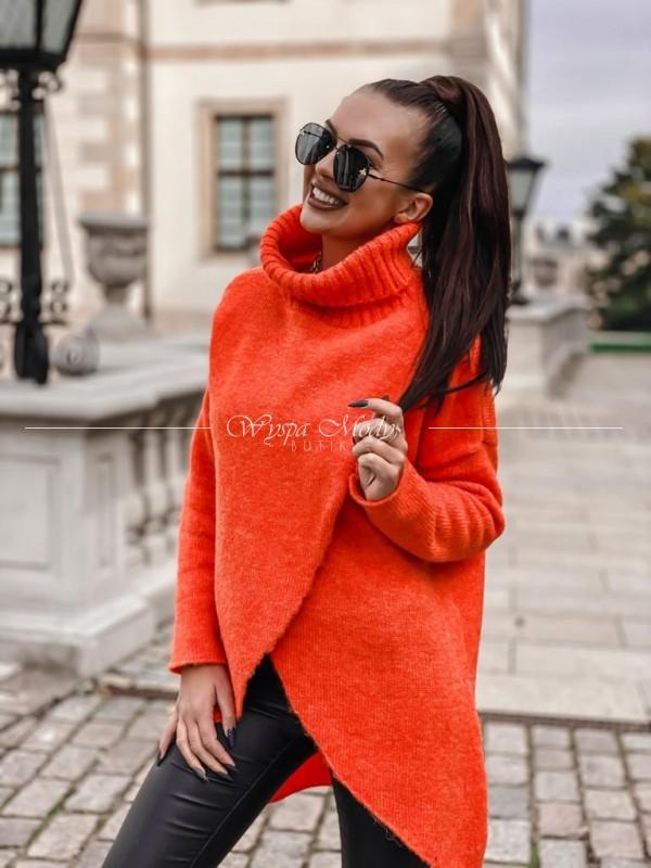Sweterek Caterina Orange ( Czas realizacji do 10 dni roboczych ! )
