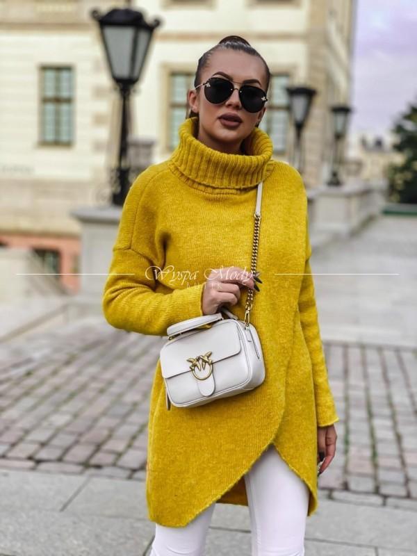 Sweterek Caterina Yellow ( Czas realizacji do 10 dni roboczych !