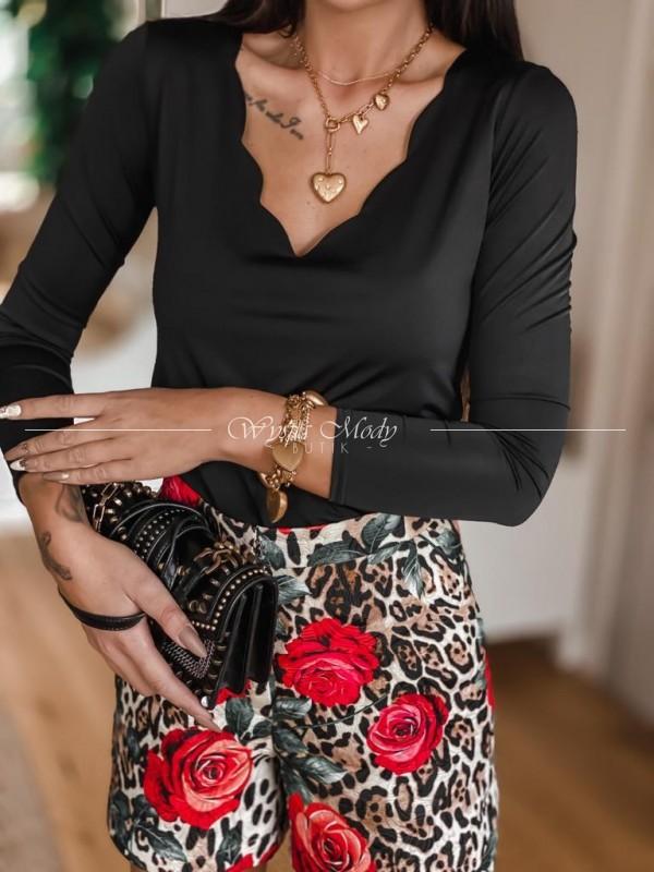 Bluzka Amelia black