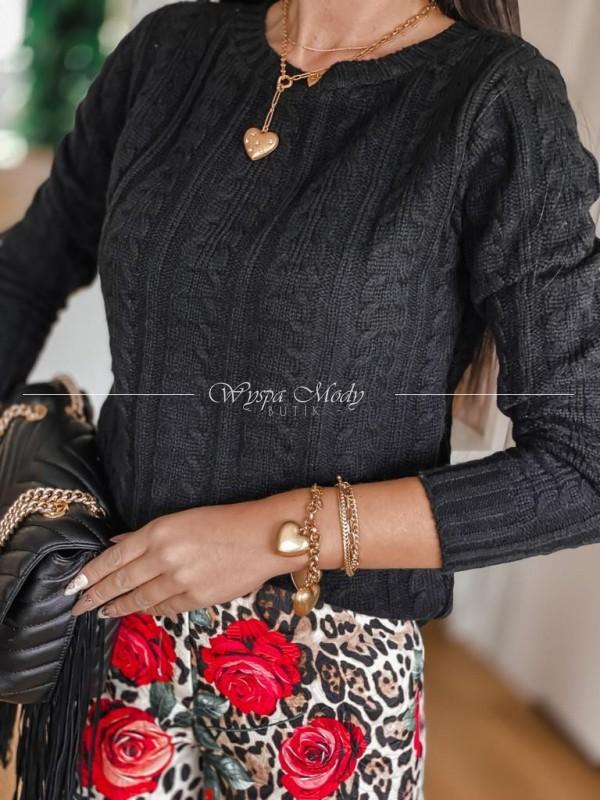 Sweterek Mirella black