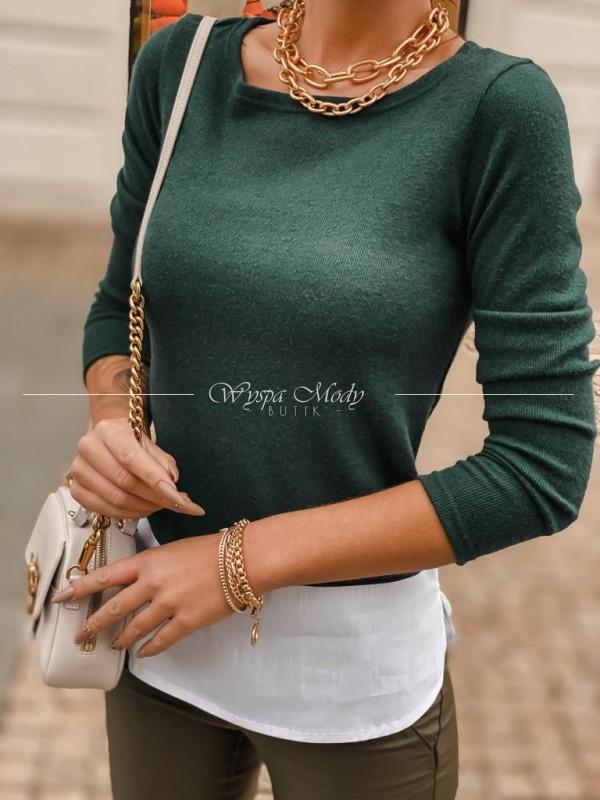 Sweterek Lissa green