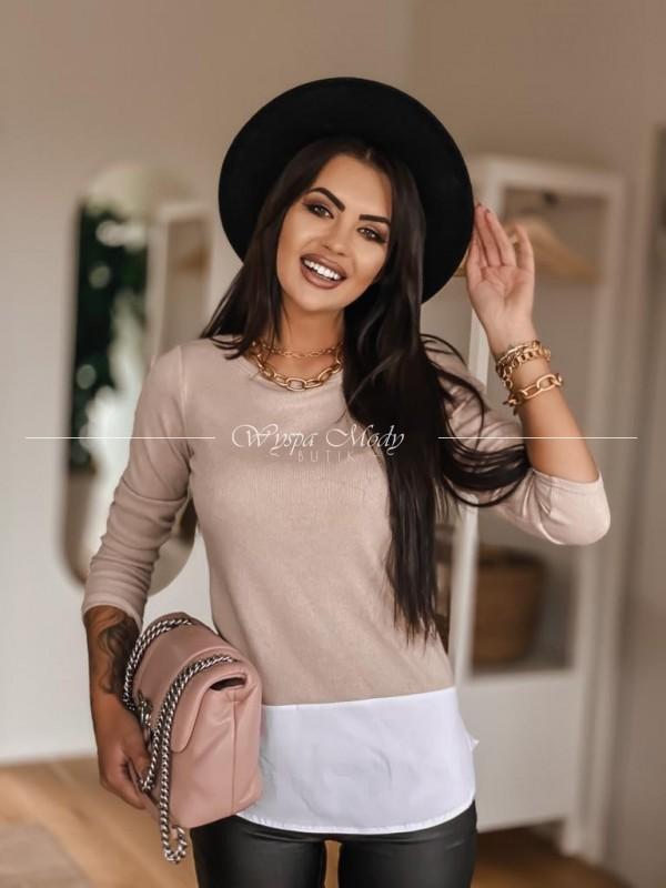 Sweterek Lissa beige