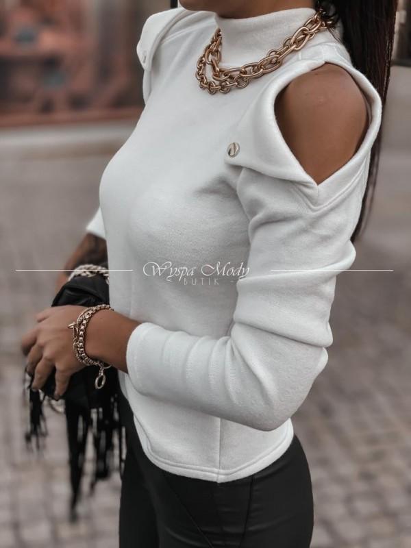 Sweterek napy white