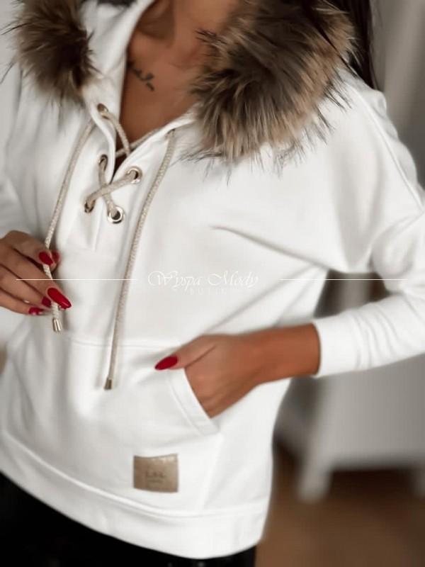 Bluza winter white