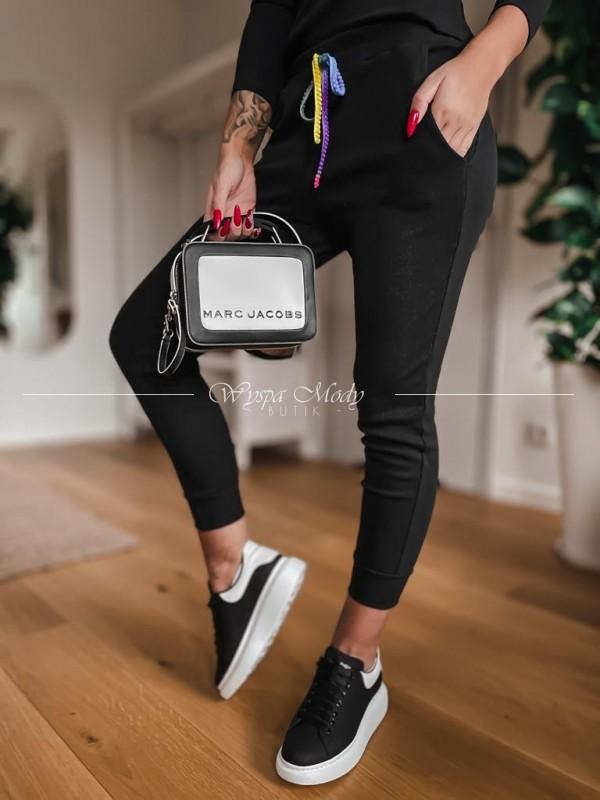 Spodnie Lakki black