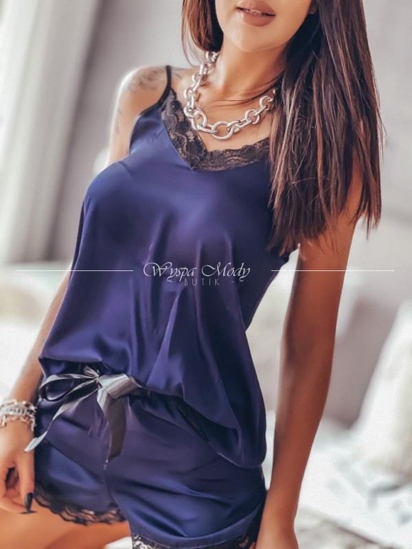 Piżama Demi Dark Blue