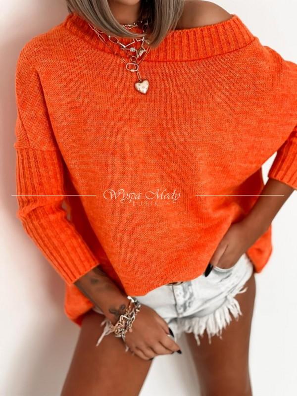 Sweter lisa orange
