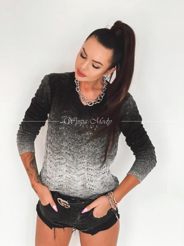 Sweterek Beyla Ombre black