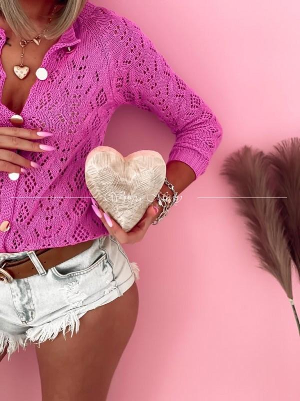 Sweterek miami Pink neon