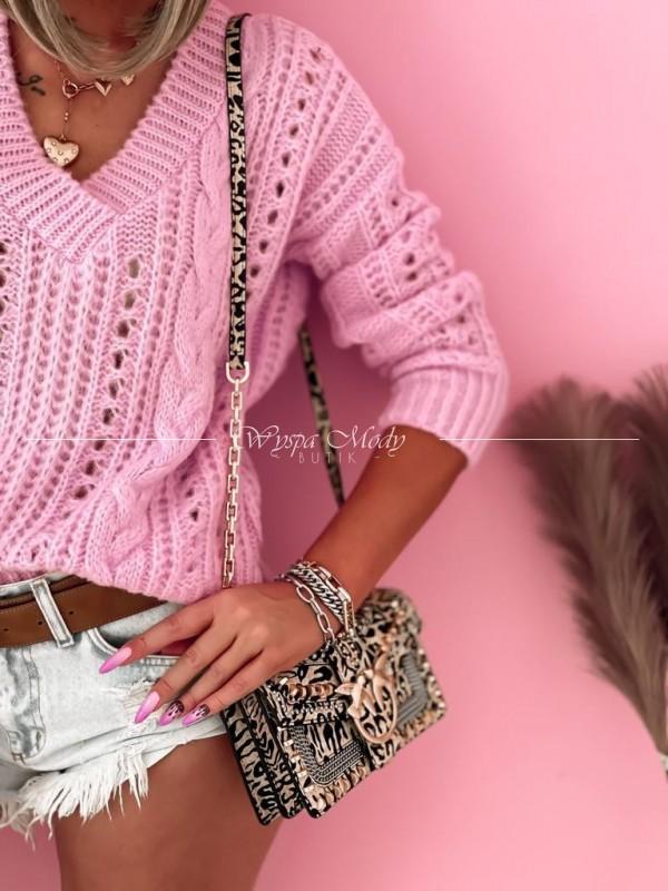Sweterek Mediolan pink