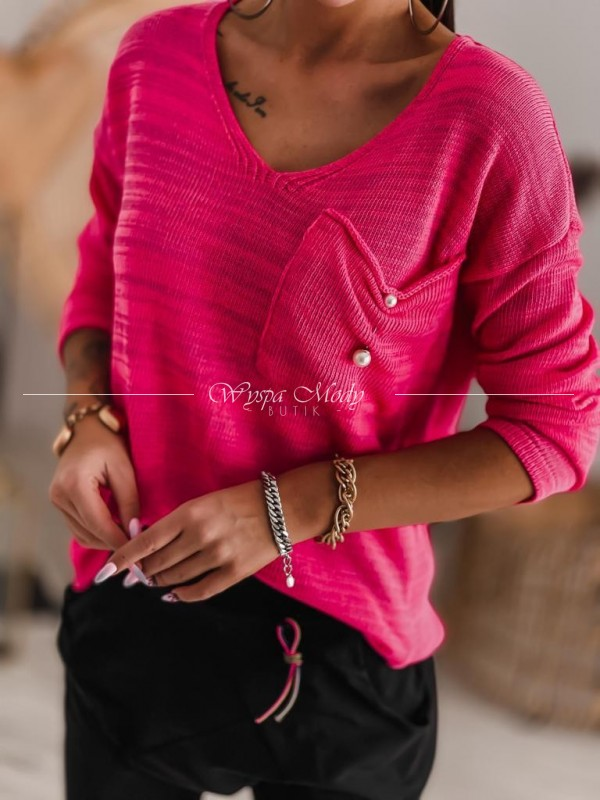 Sweterek mella pink