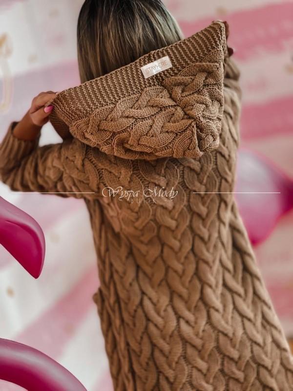 Sweterek Sandy Brown