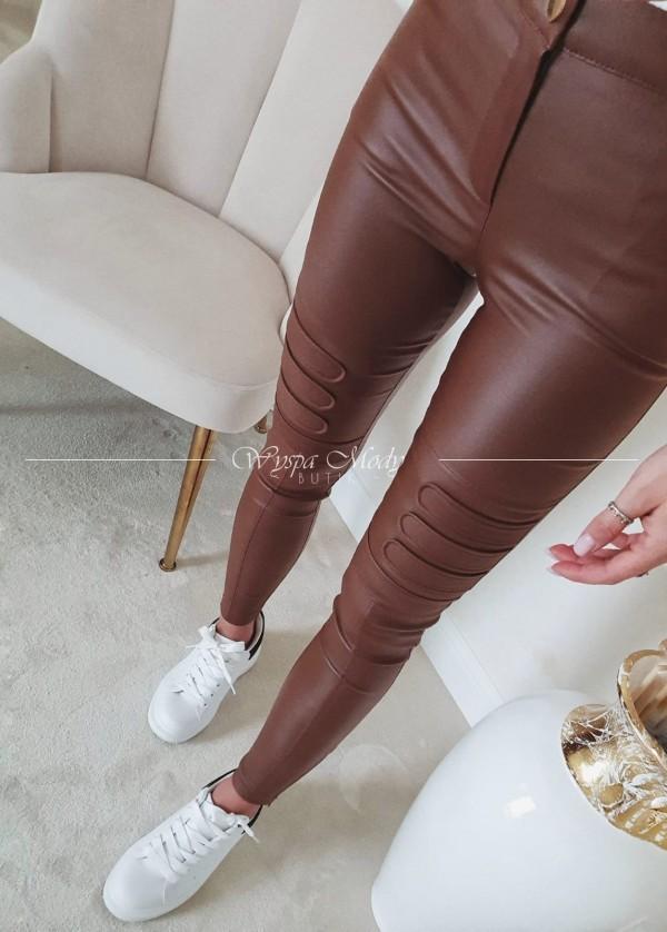 Spodnie tiertro czekolada