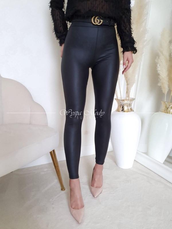 Spodnie Amber black