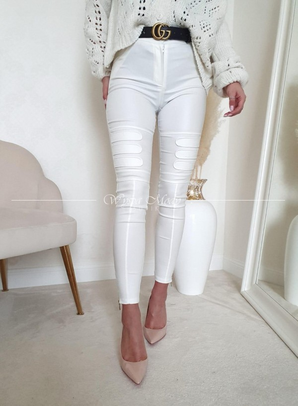Spodnie tiertro white