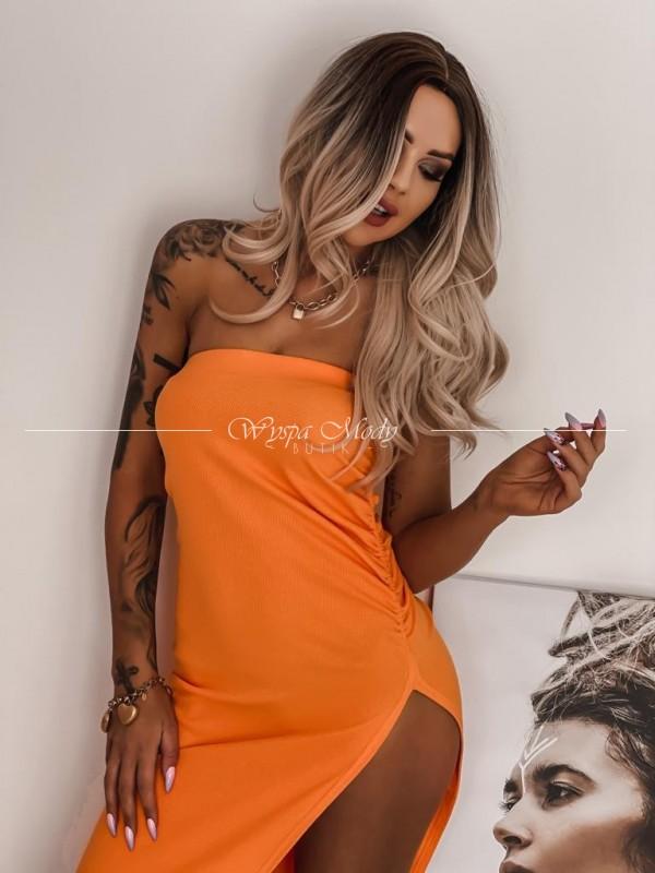 sukienka stella orange