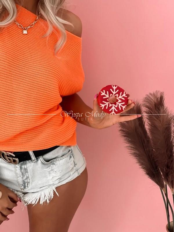 Sweterek kiki orange