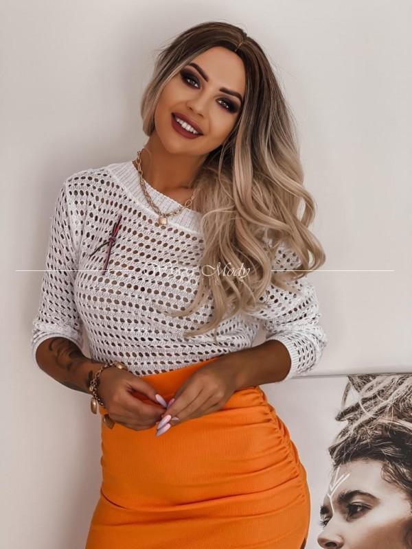 Sweterek Mera white