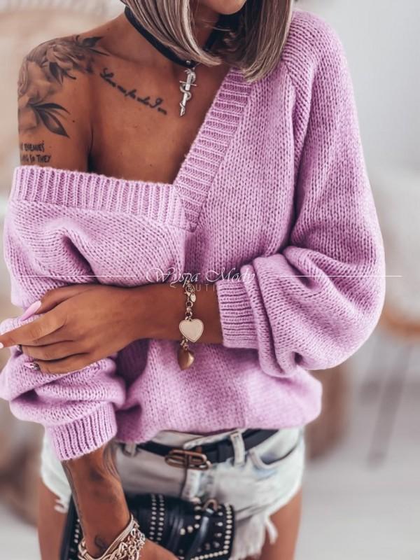 Sweter MERLIN lila
