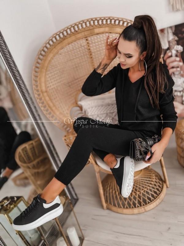 Komplet sweterkowy black